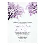 Pastel Purple Trees - Wedding Invitations at Zazzle