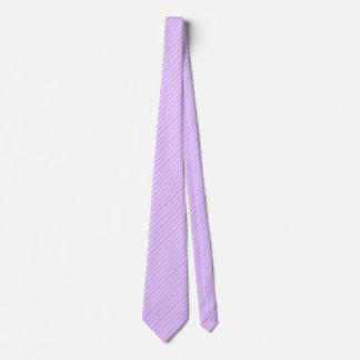 Pastel Purple w/White Stripes Tie