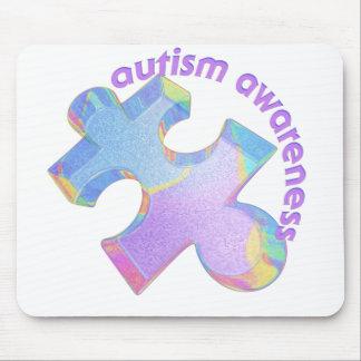 Pastel Puzzle Mouse Pad
