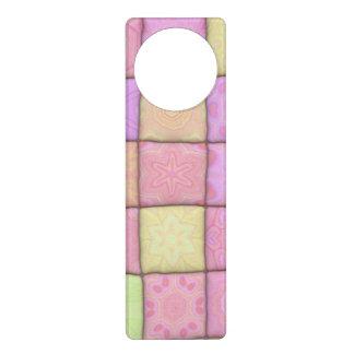 pastel quilt 1(I) Door Hanger