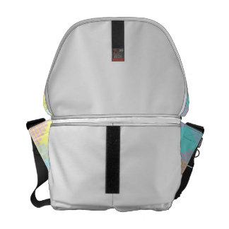 Pastel Quilt Rickshaw Messenger Bag