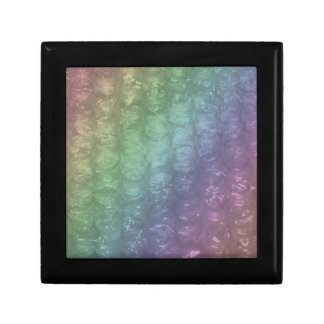 Pastel Rainbow Bubble Wrap Effect Gift Boxes