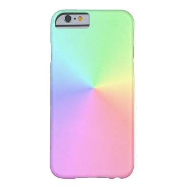 Pastel Rainbow- Barely There iPhone 6 Case