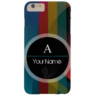 Pastel Rainbow Colourful Barely There iPhone 6 Plus Case