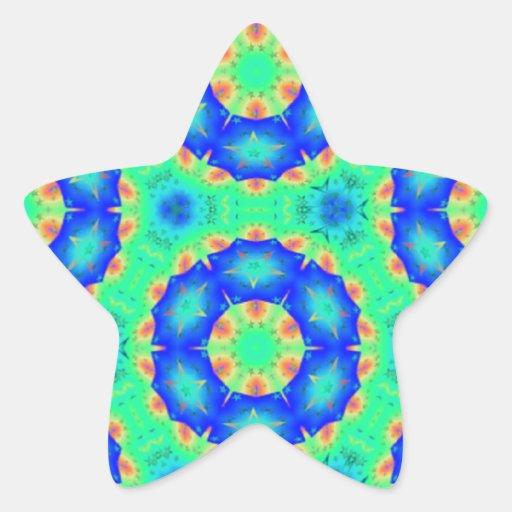 Pastel Rainbow Gears resized.PNG Star Sticker