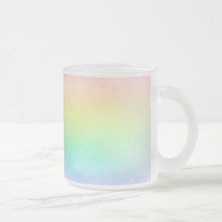Pastel Rainbow Glass Mug