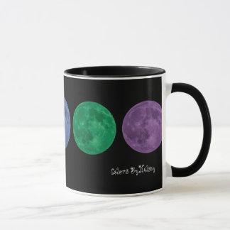Pastel Rainbow Moon Mug