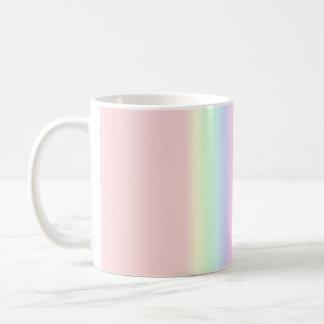 Pastel Rainbow Coffee Mugs