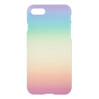 Pastel Rainbow Ombre iPhone 8/7 Case