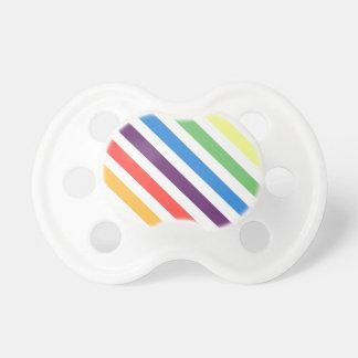 Pastel Rainbow Pacifier