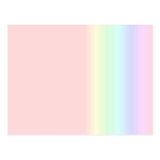 Pastel Rainbow Post Cards