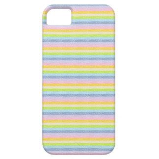 Pastel Rainbow Stripes iPhone Case