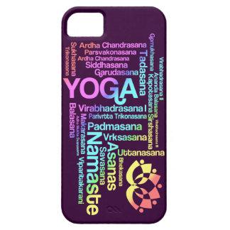 Pastel Rainbow Yoga Positions in Sanskrit iPhone SE/5/5s Case
