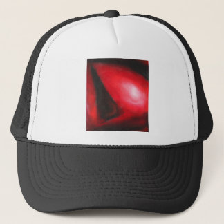Pastel Red Comet (astronomical expressionism) Trucker Hat