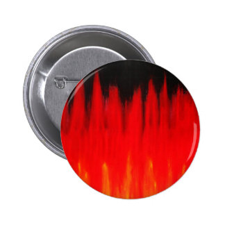 Pastel Red Fire Flames (Natural Symbolism) Pinback Buttons