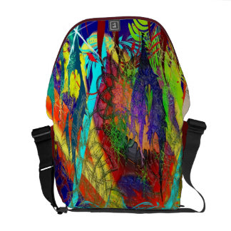 Pastel Reef Courier Bag
