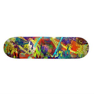 Pastel Reef Skateboard Deck
