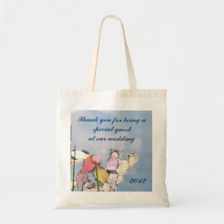 Pastel Reflections Favor Budget Tote Bag