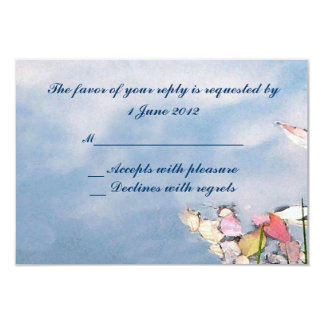 Pastel Reflections RSVP Card