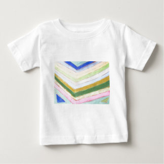 Pastel Refraction (abstract naive expressionism) Baby T-Shirt