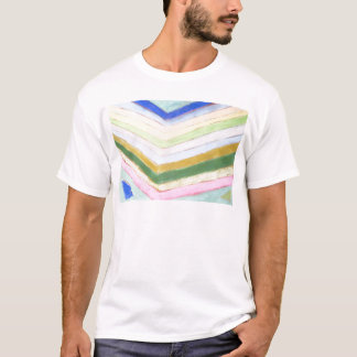 Pastel Refraction (abstract naive expressionism) T-Shirt