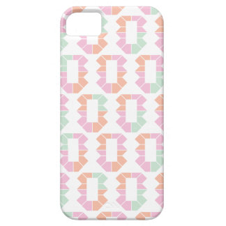 Pastel retro abstract pattern art iPhone SE/5/5s case