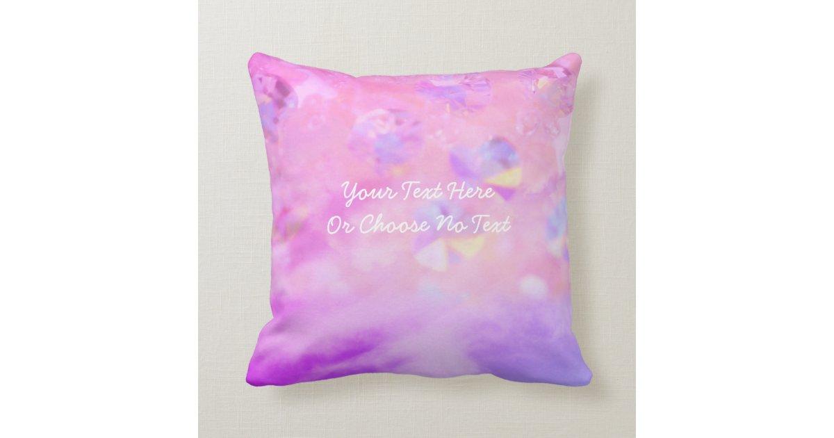 Pastel Retro Pink Blue Purple Aesthetic Love Heart Throw Pillow Zazzle Com