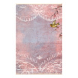 Pastel Rococo with Bird Stationery