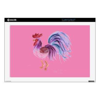 Pastel Rooster by EelKat Wendy C Allen 17