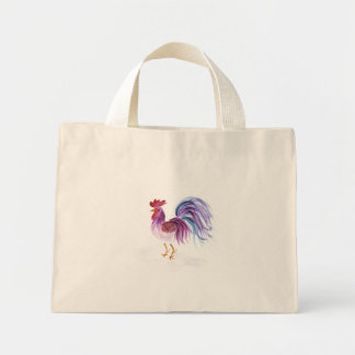 Pastel Rooster by Wendy C. Allen Bag