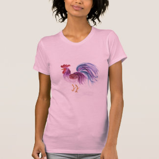 Pastel Rooster by Wendy C. Allen Shirts