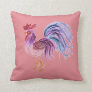 Pastel Rooster - Reversible Mauve/Lilac