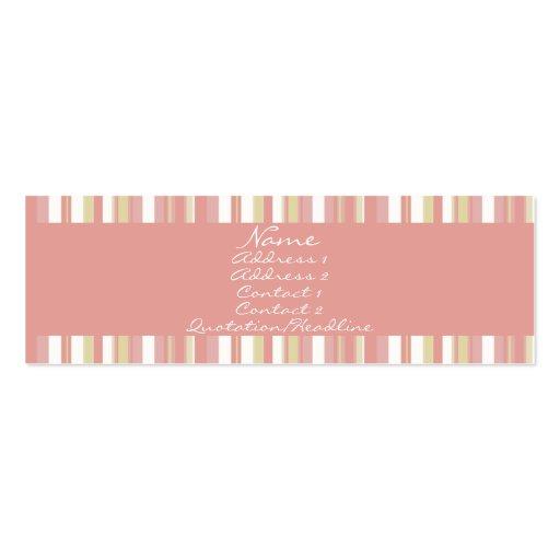 Pastel rosado • Profilecard Tarjetas De Visita Mini