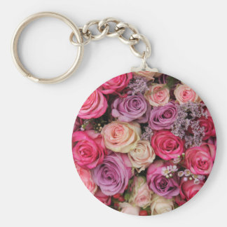 Pastel rose experience keychains