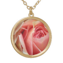 Pastel Rose Necklace