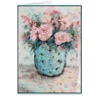 Pastel Roses...Birthday Card