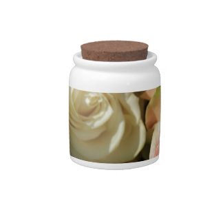 Pastel Roses by The Rose Garden Candy Jars