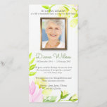 """Pastel Roses Funeral Sympathy Thank You Card<br><div class=""""desc"""">Beautiful Pastel Roses Funeral Sympathy Thank You card can also be used for many other occasions. It is a fully personalized sympathy card. You can easily add your loved one&#39;s photo and change the text (color, font style, size and position) by clicking the customise button. Available in matching Memorial Service...</div>"""