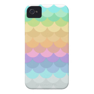 Pastel Scalloped iPhone 4 Cases