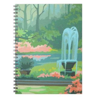 Pastel Scenic PBN Notebook