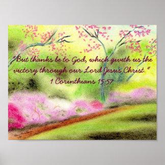 Pastel Scripture Print