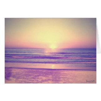 Pastel Sea Card
