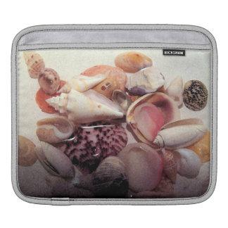 Pastel Sea Shells iPad Sleeve