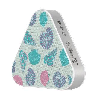 Pastel Seashell Pattern 1 Bluetooth Speaker