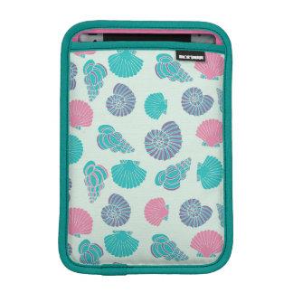 Pastel Seashell Pattern 1 iPad Mini Sleeves