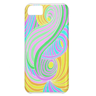Pastel Seventies Trippy Background Cover For iPhone 5C