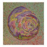 Pastel Shell Poster