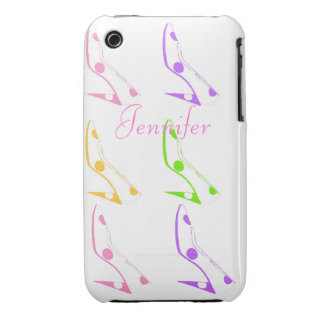 Pastel Shoes for Women who Love to Shop Case-Mate iPhone 3 Cases