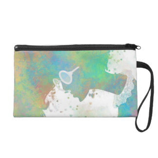 Pastel Silhouette Bagettes Bag