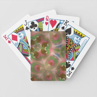 Pastel silk bicycle poker deck